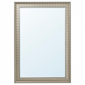 СОНГЕ Зеркало, серебристый, 91x130 см