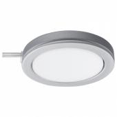 ОМЛОПП Софит светодиодный, цвет алюминия, 6.8 см